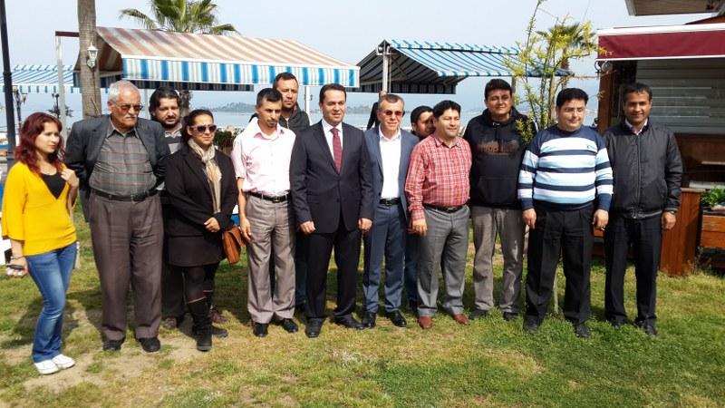 Eryılmaz Fethiye halkına teşekkür etti
