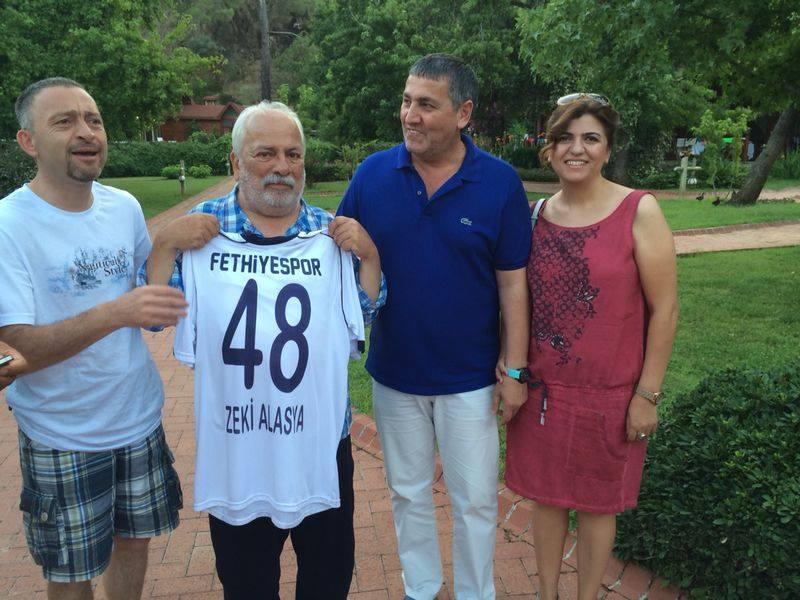 Zeki Alasya Fethiyespor aşığı çıktı