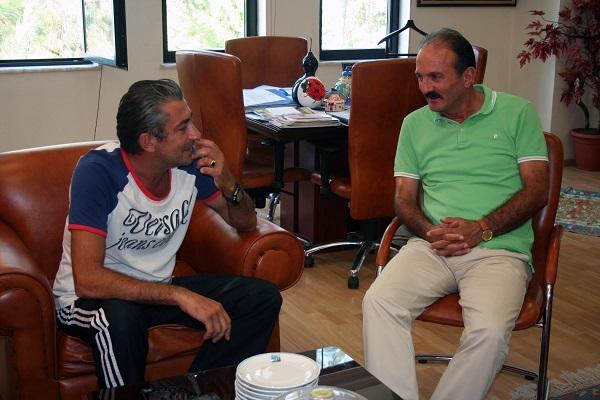 Erkan Petekkaya Fethiye'de tatil yapıyor