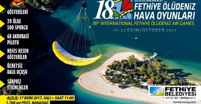 20 ülkeden 500 paraşütçünün katılması bekleniyor