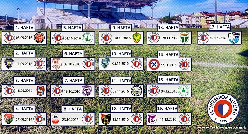 2016-2017 lig fikstürü çekildi