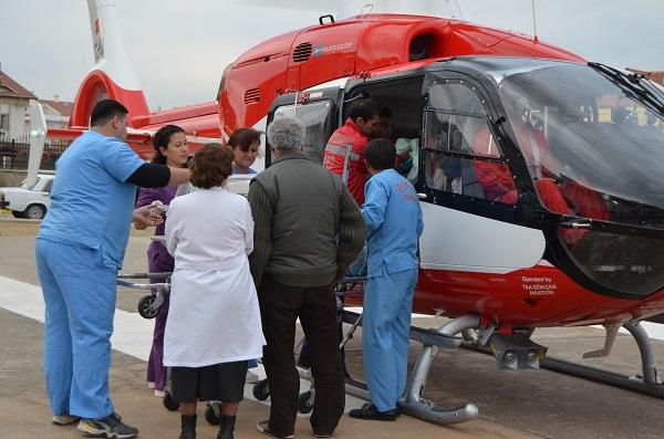 Prematüre Bebek İçin Ambulans Helikopter