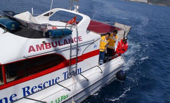 Fethiye'ye deniz ambulansı konuşlandırılacak