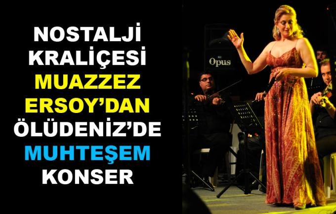 Muazzez Ersoy'dan Muhteşem Konser