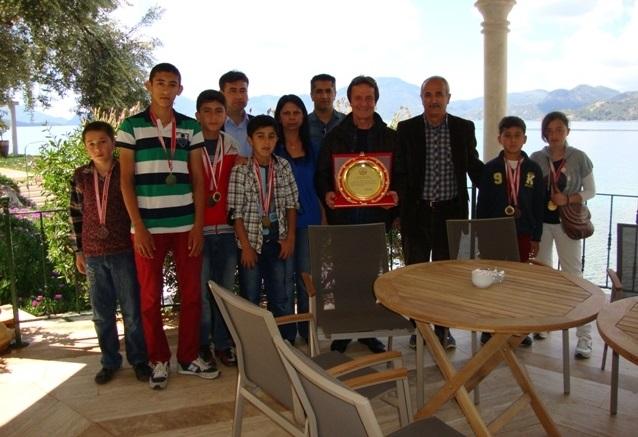 Zorlu'ya Fethiye Milli Eğitim'den ziyaret