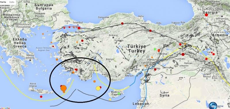 5.4 şiddetinde deprem