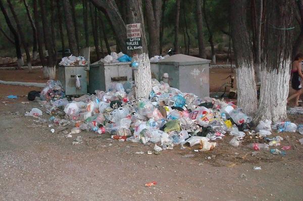 Koylar çöplüğe döndü, çevrecilerin sesi çıkmıyor