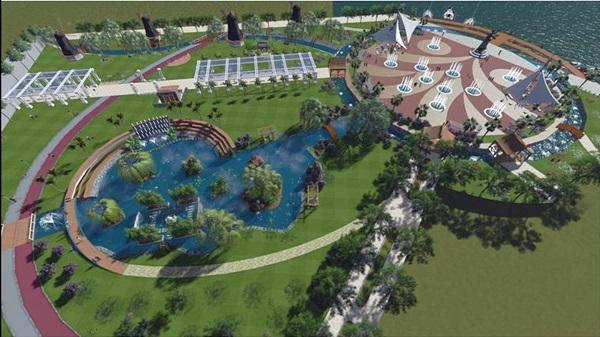 Sazlık alan kurtarılarak park yapılıyor