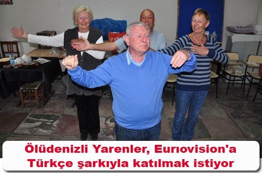 Eurıovision'a Türkçe şarkıyla katılmak istiyor