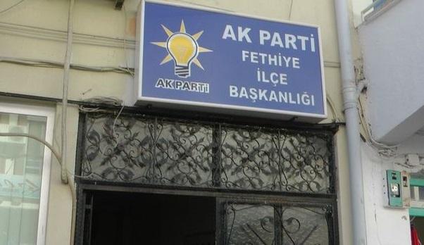 AK Parti binasındaki patlama