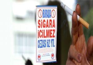 Muğla tütün yasağı denetiminde ilk üçte