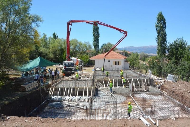 Ali Özek Kültür Merkezi'nin temeli atıldı