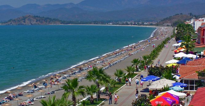 Ay: En ucuz plaj Çalış Plajı'dır