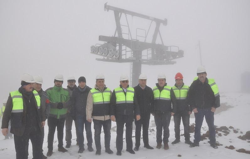 Babadağ Teleferik Projesi İnşaatı Sürüyor