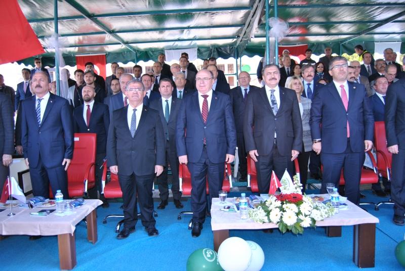Bakan Eroğlu Fethiye'de Toplu Açılış Yaptı