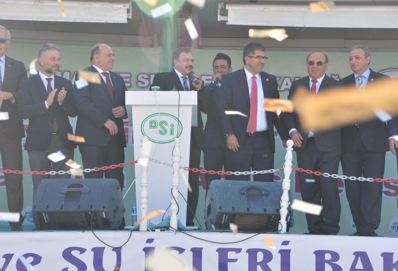 Bakan Eroğlu, Seydikemer'deToplu Açılış Yaptı