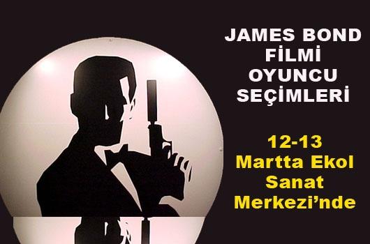 James Bond filmi için oyuncu seçmeleri yapılacak