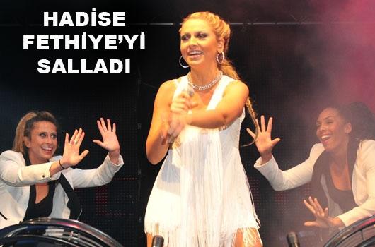 Fethiye'de Hadise ve Tan konseri