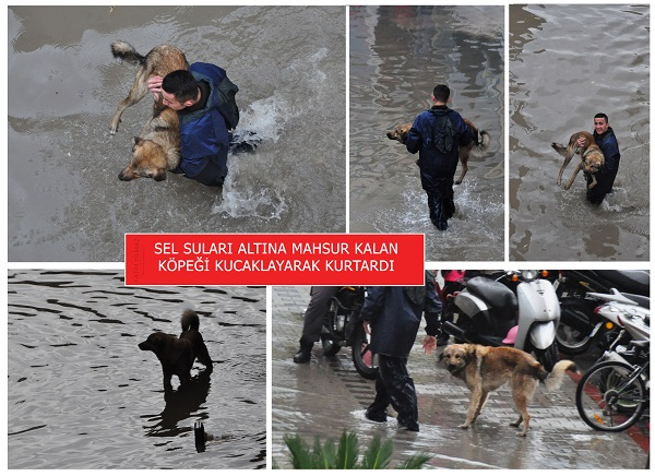 Fethiye'de metrekareye 95 kilogram yağmur düştü