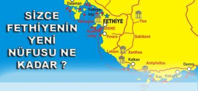 Fethiye'de erkek nüfusu artıyor(özel)