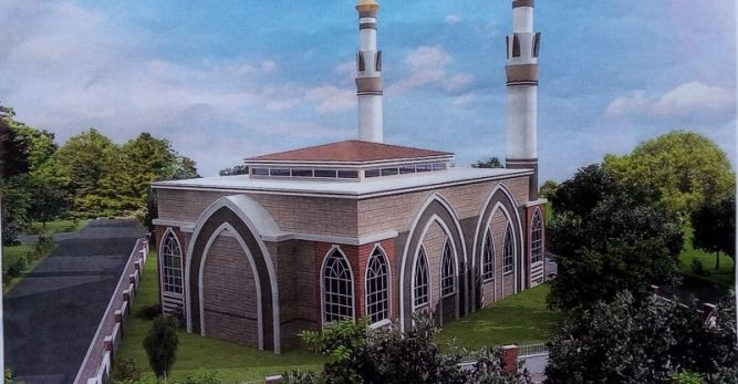 Çalış'a yapılacak caminin adı ve projesi belli oldu