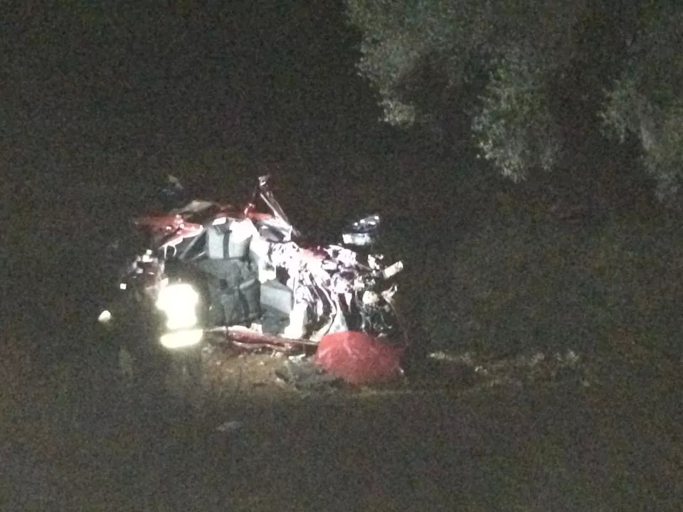 Seydikemer'de trafik kazası: 2 ölü, 1 yaralı