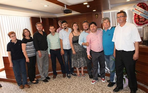 Fethiye Gazeteciler Derneği'nin genel kurulu yapıldı