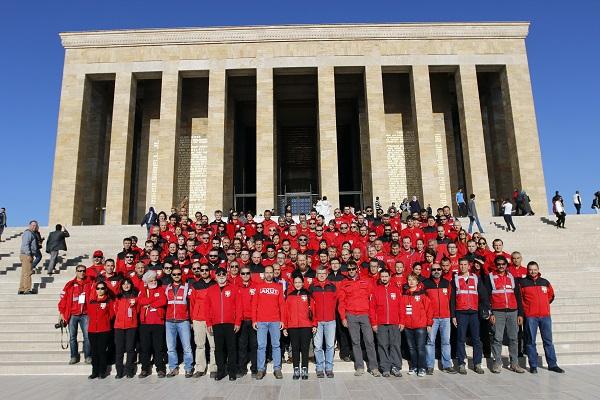 AKUT ekibi Ankara'da toplandı