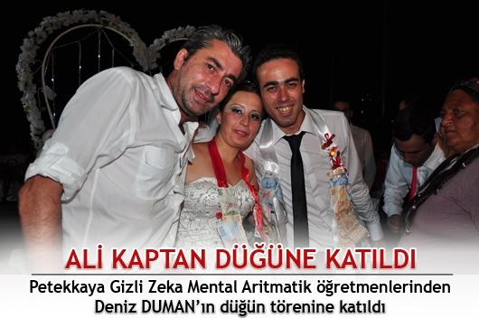 Ali Kaptan, Fethiye'de düğüne katıldı