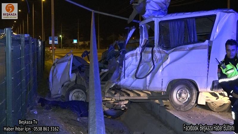 Feci Minibüs Kazasında 2 Kişi Öldü ( Video Haber )