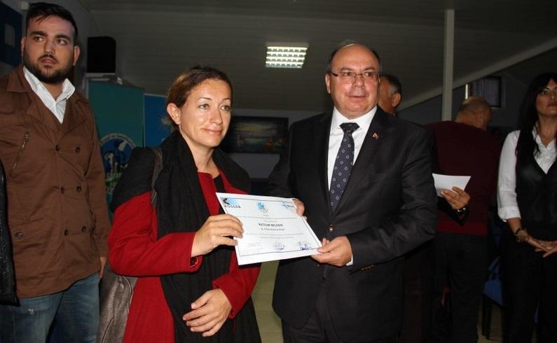 Fethiye'de 101 yeni girişimci sertifika aldı