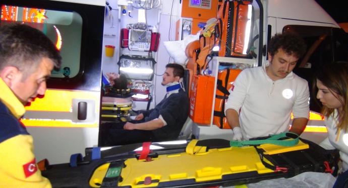 Fethiye'de Kaza 1 Ağır  5 Yaralı