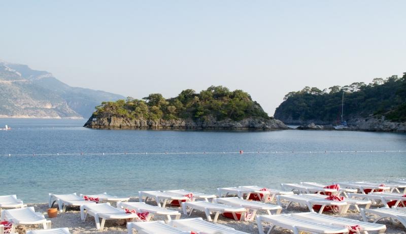 Fethiye'de ücretsiz denize girmek neredeyse imkansız!!