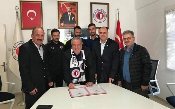 Fethiyespor Levent Eriş ile anlaştı