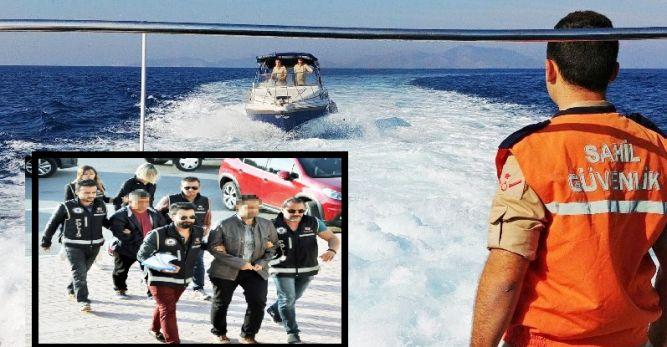Firari FETÖ'cüler Yunanistan'a kaçarken yakalandı
