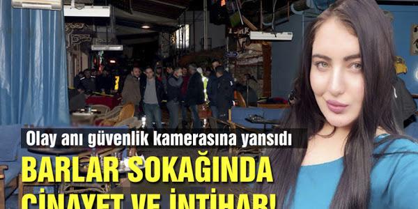 Genç Kızı Sokak Ortasında Öldürüp İntihar Etti