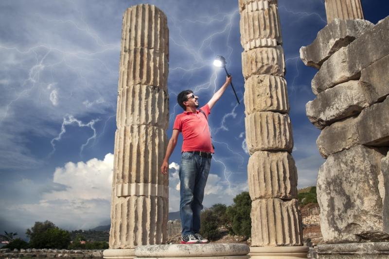 Mutluluğun fonu antik kentler oldu