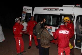 Ormanda kaybolan öğrenciler AKUT tarafından kurtarıldı