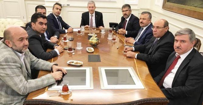 Seydikemer heyeti Ankara'dan mutlu dönüyor