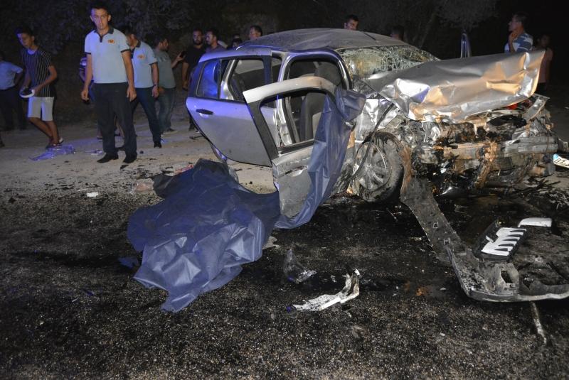 Seydikemer\'de Feci Kaza: 2 Ölü 4 Yaralı