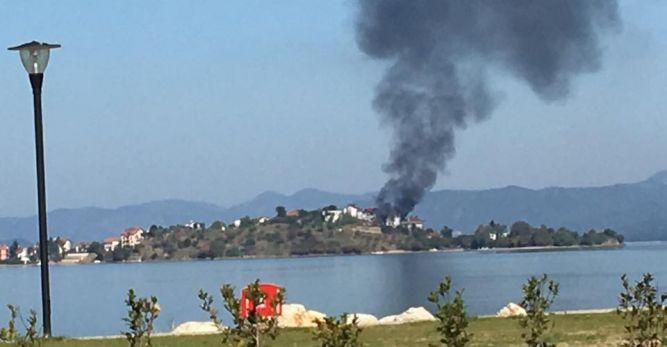 Şövalye Adası'nda Yangın