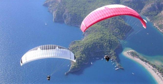 Tandem yamaç paraşütü pilotluğu meslek oldu