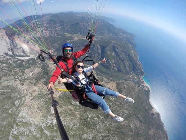 Yamaç Paraşütüne Çinli Turist İlgisi