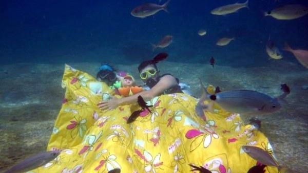 Yatak odalarını deniz altına taşıdılar