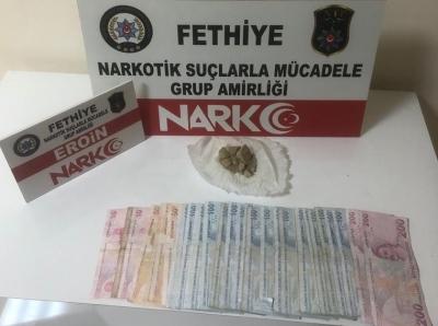 Antalya'dan yola çıkan Canlı Kurye Fethiye'de suç üstü yakalandı