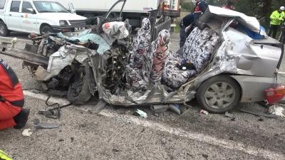 Seydikemer'de Feci kaza 5 ölü