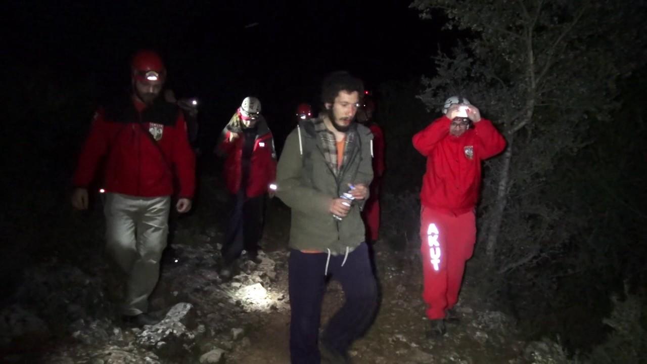 Ormanda Kaybolan 2 Kişiyi AKUT Buldu