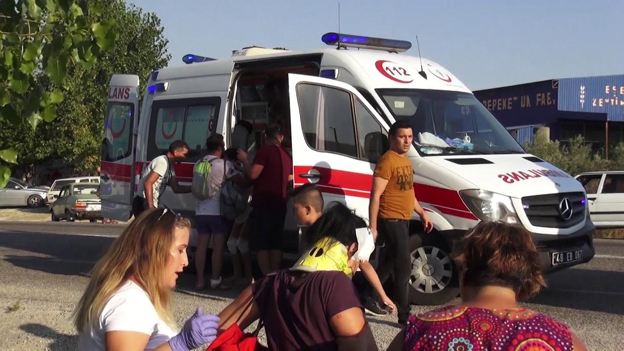 Seydikemer'de Otobüs Kazasında Can Pazarı