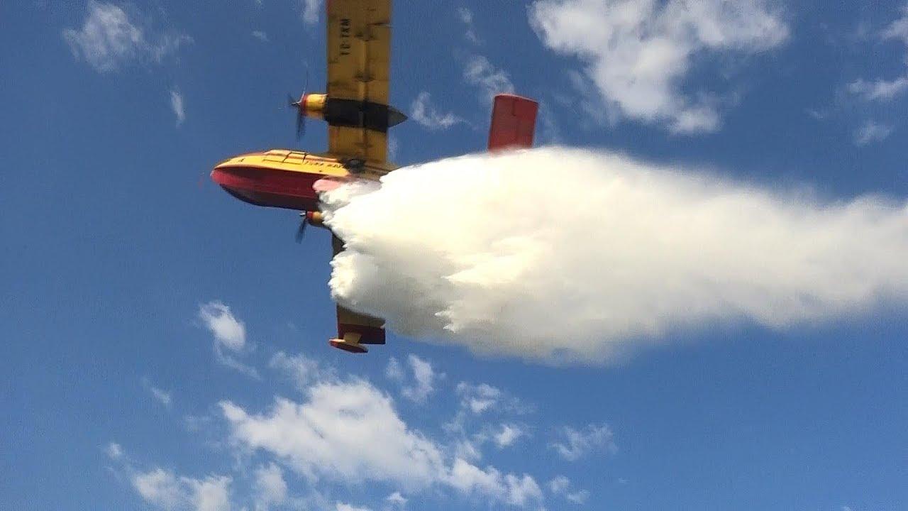 Yangın Helikopteri Muhabirleri Tam 12'den Vurdu