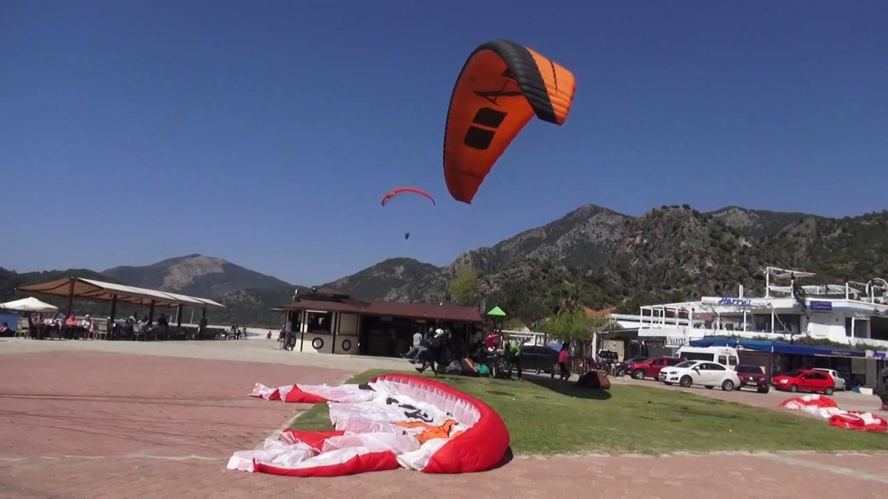 Yamaç Paraşüt Sezonu Açıldı Babadağ Ölüdez Fethiye Turkey 2017